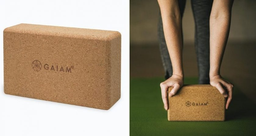 Sustainable yoga blocks from Gaiam