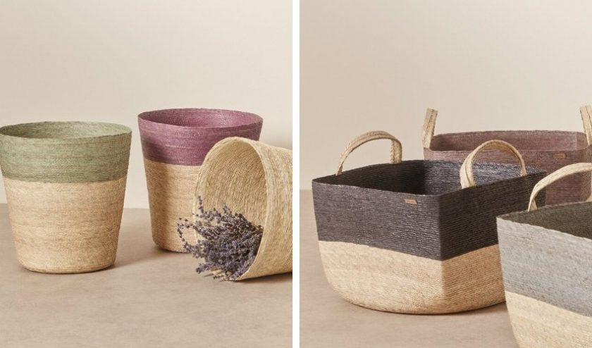 nature-inspired eco-friendly handmade baskets made from natural materials