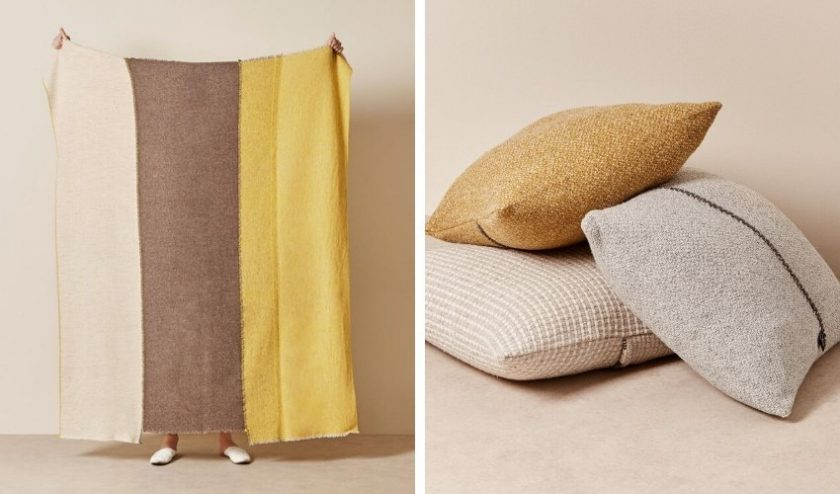 ethical home decor made with natural dyes and materials