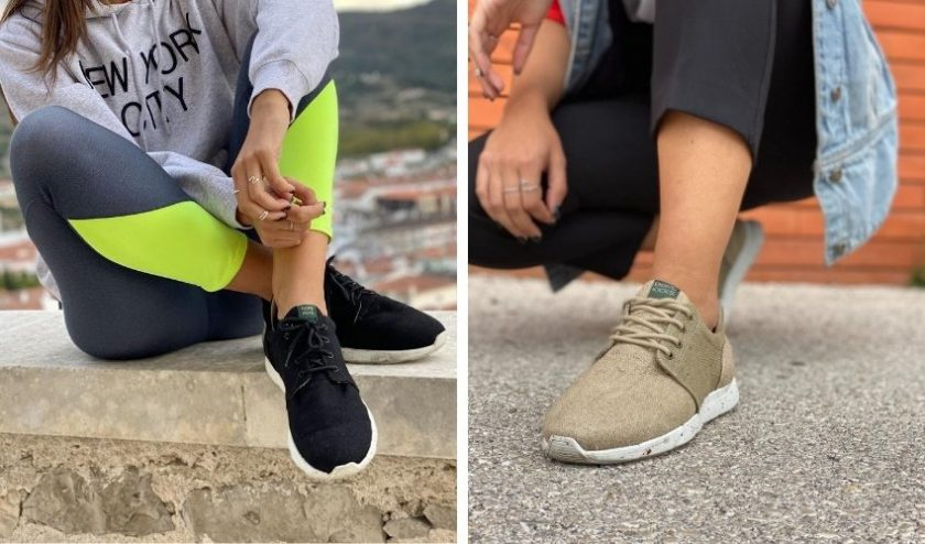 8000 kicks sneakers made with sustainable fibers