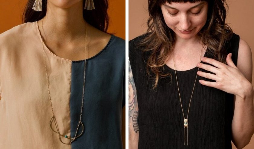 Ethical locally produced jewelry from Iron Oxide
