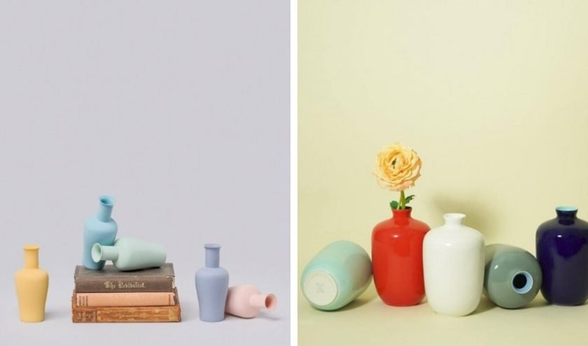 ethical and artisan made high quality porcelain vases