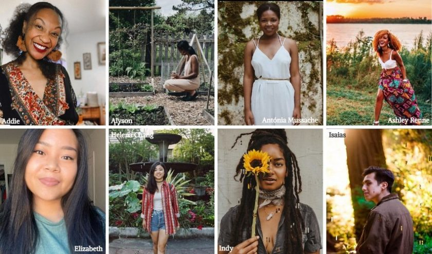 BIPOC influencers in eco lifestyle and environmentalism