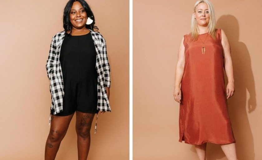 Plus size sustainable clothing from Altar