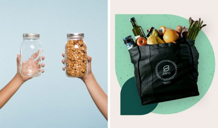 Zero waste grocery delivery services