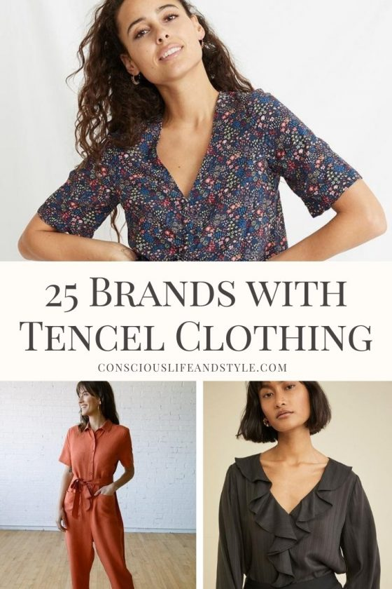 25 Brands with Tencel Clothing - Conscious Life & Style