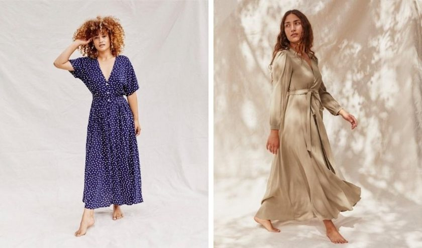 sustainable dresses from Christy Dawn for petite woman