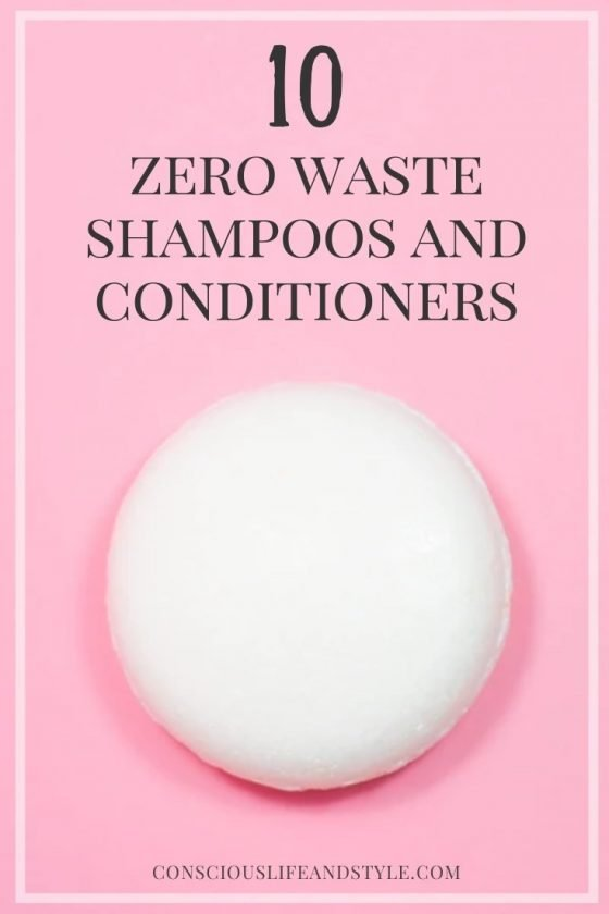 10 Zero Waste Shampoos and Conditioners - Conscious Life and Style