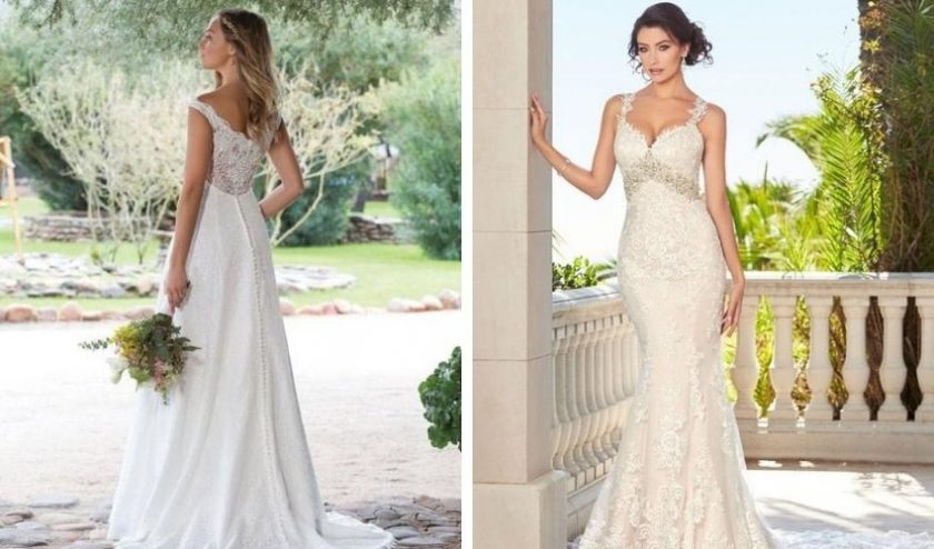 pre-loved secondhand wedding dresses from Tradesy