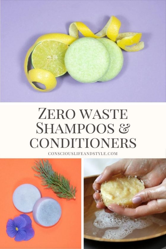 Zero Waste Shampoos and Conditioners - Conscious Life and Style