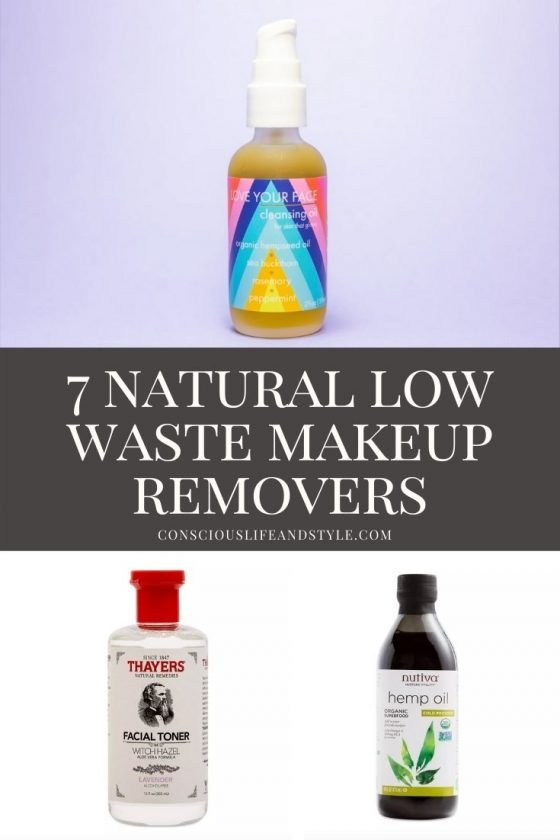 7 Natural Low Waste Makeup Removers - Conscious Life & Style