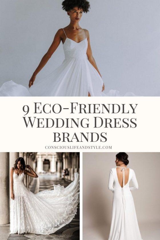 9 Eco-Friendly Wedding Dress Brands - Conscious Life & Style