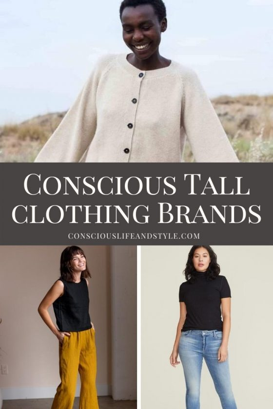 Conscious Tall Clothing Brands