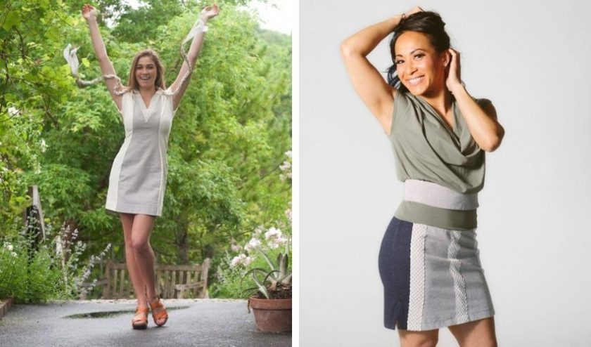 fashion made with natural resources for petites from EcoPetites