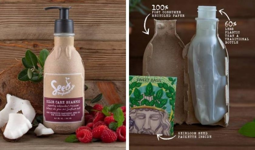 sustainable shampoo from seed phytonutrients