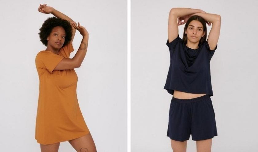 sustainable loungewear made from Tencel