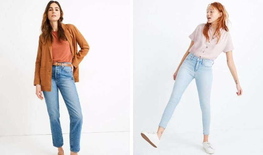 Tall fair trade clothing from Madewell