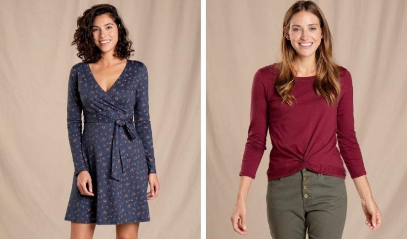 sustainable fashion from Toad&Co made with sustainable materials like Tencel™