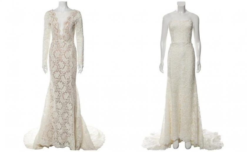 Secondhand designer wedding dresses from The RealReal