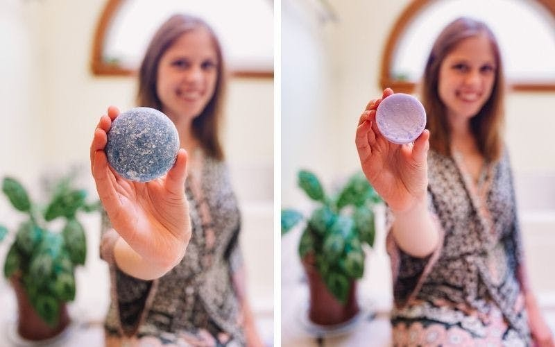 sustainable shampoo and conditioner bars from EcoRoots