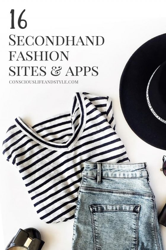 16 Secondhand Fashion Sites and Apps - Conscious Life & Style