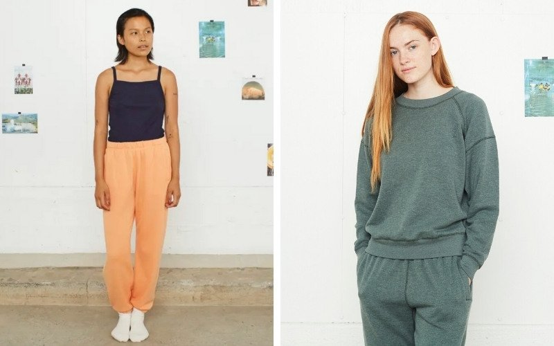 Organic and sustainable loungewear from Entireworld