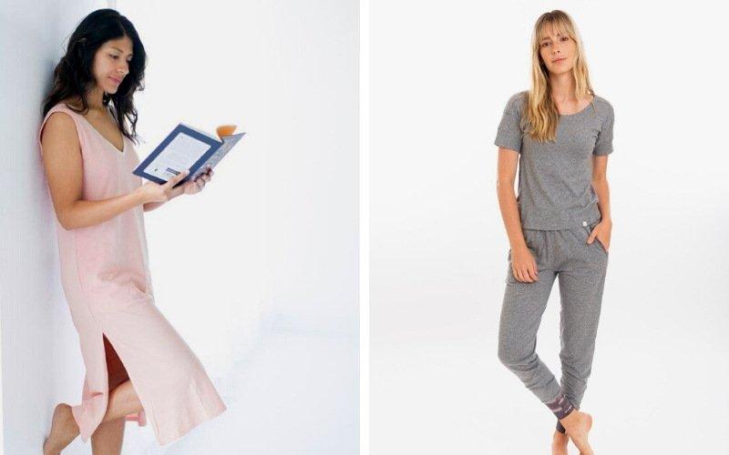 Organic sustainable pajamas from Leena and Lu