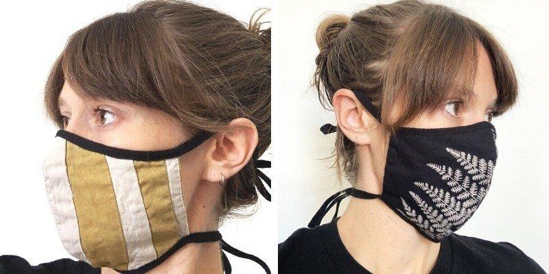 tonlé zero waste face masks