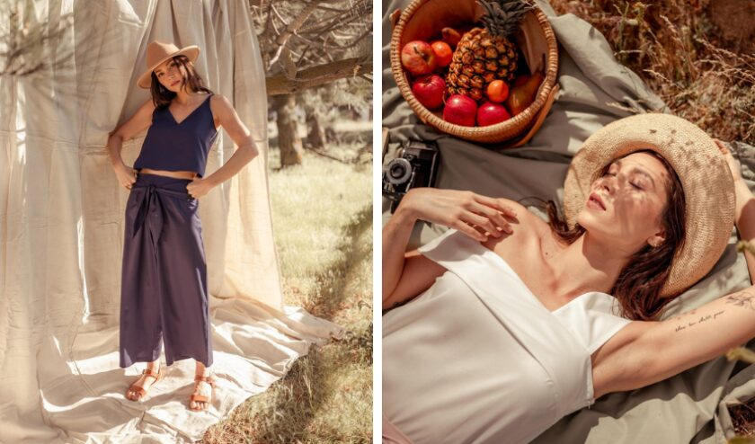 Eco-friendly vegan clothing from Valani made with Tencel