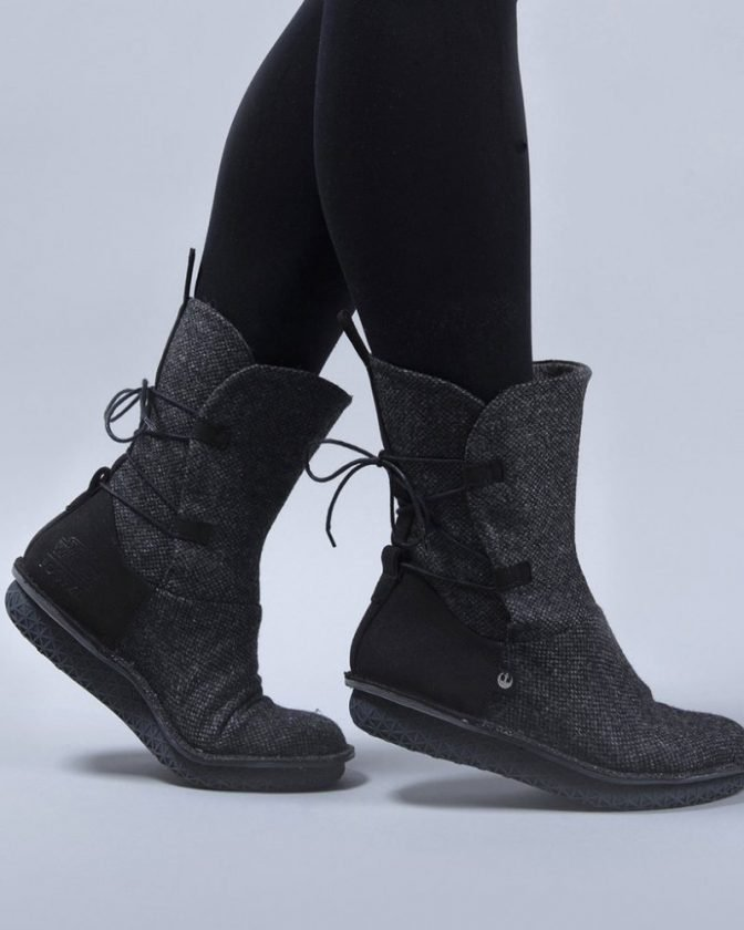 Sustainable vegan boots from Po-Zu