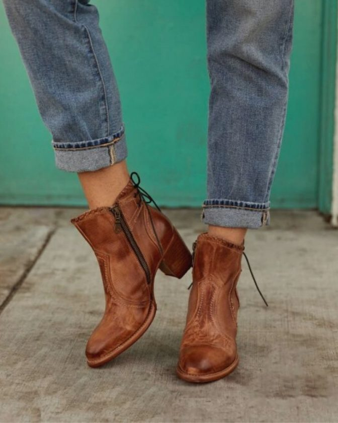 Ethical Leather Boots from Bed Stu