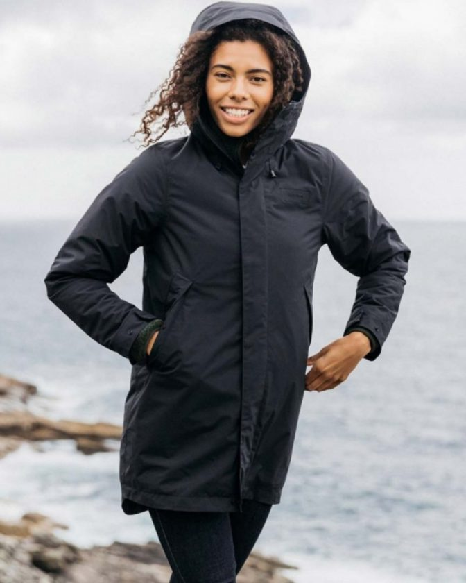 Finisterre recycled sustainable winter coats