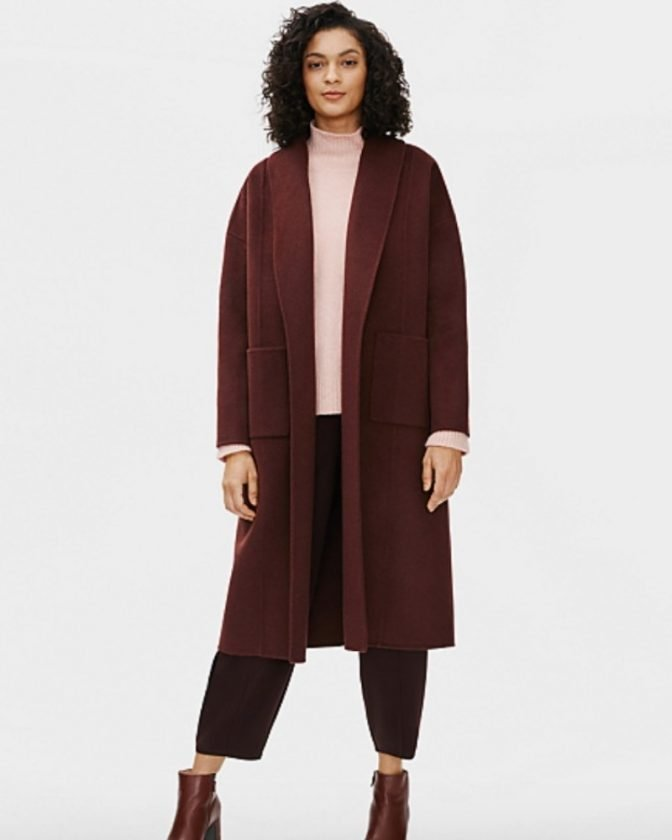 Sustainable and ethical coats from Eileen Fisher
