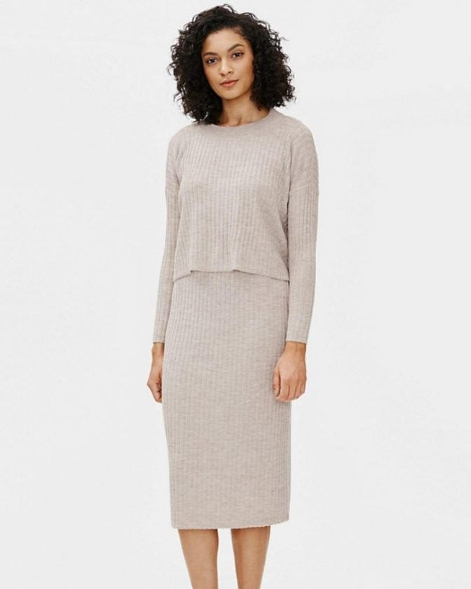 Sustainable clothing from slow fashion brand Eileen Fisher