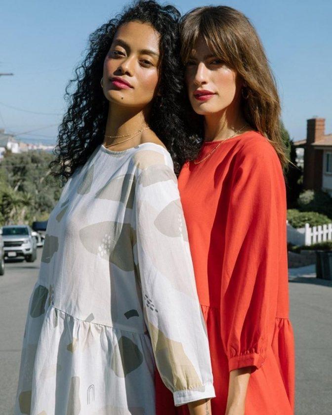 Slow minimalist fashion brand Tradlands