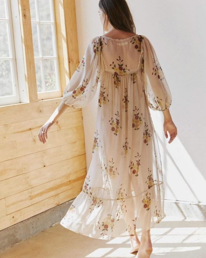 Sustainable dresses and clothing from Christy Dawn