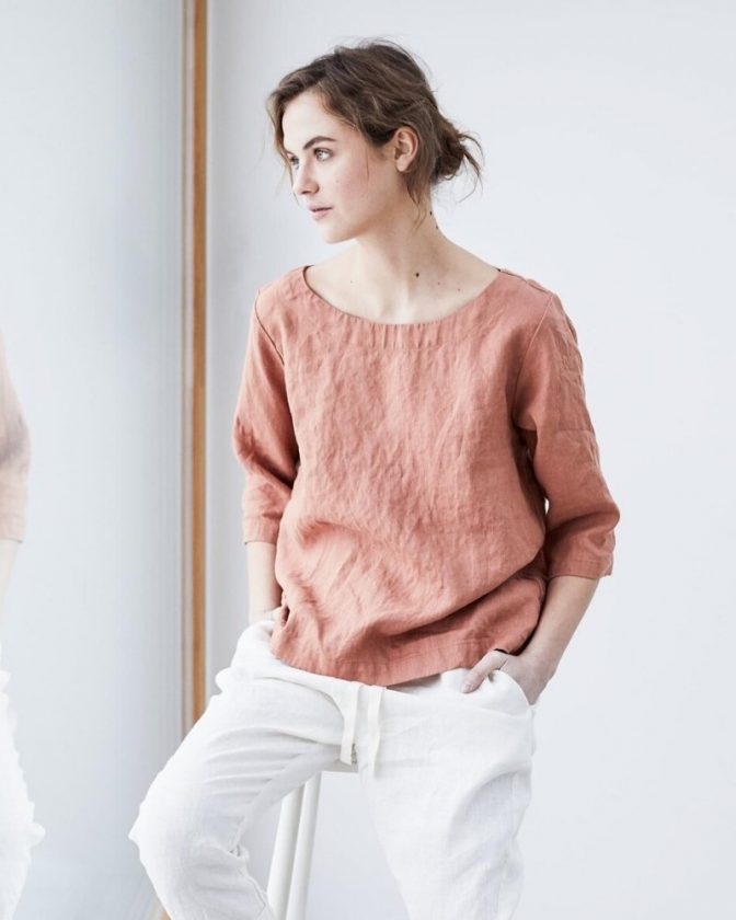 Sustainable and slow fashion from Not Perfect Linen