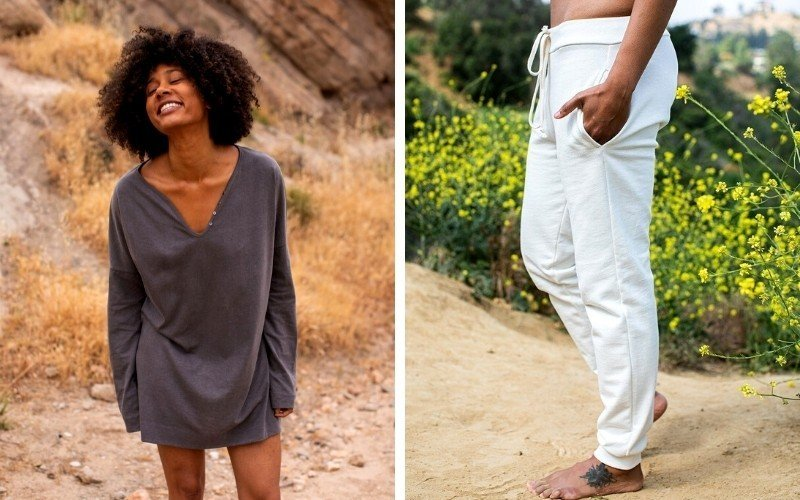 Regenerative and sustainable loungewear from California Cloth Foundry