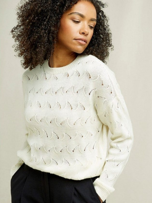 Sustainable and organic sweaters from People Tree