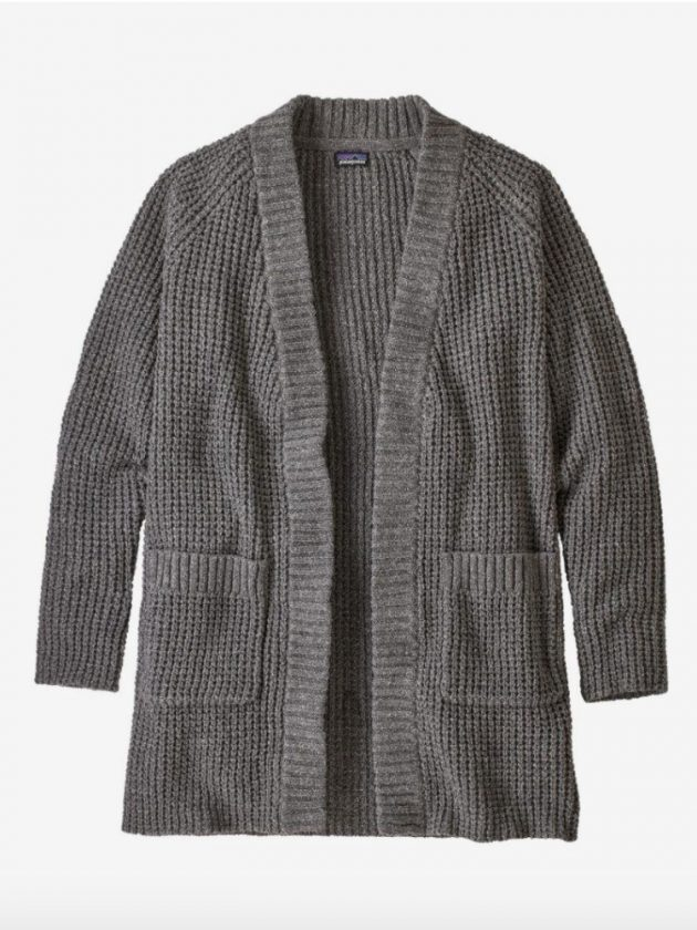 Patagonia's sustainable sweaters made from recycled and natural fiber