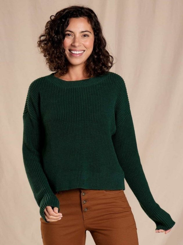 Eco-friendly sweaters from Toad&Co