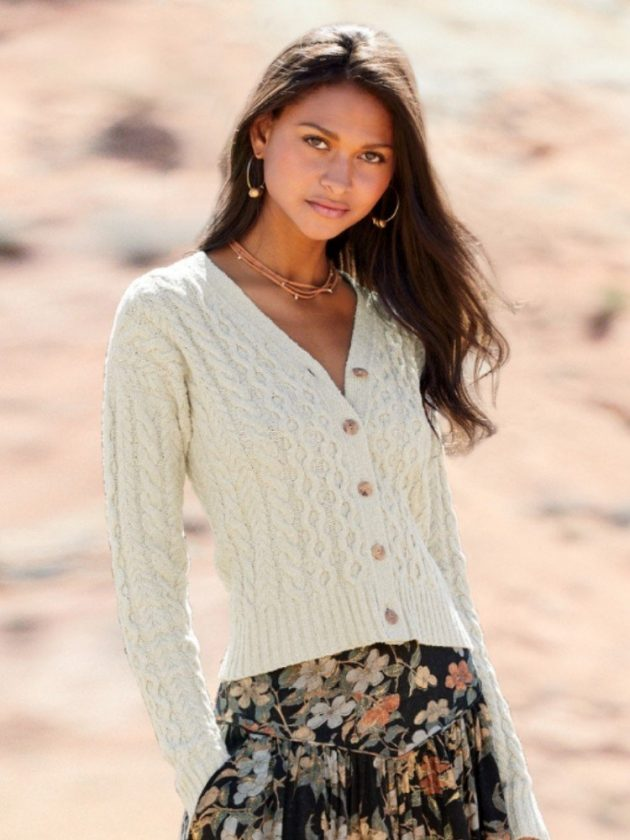 Artisan-made sweaters made with natural fabrics from Peruvian Connection