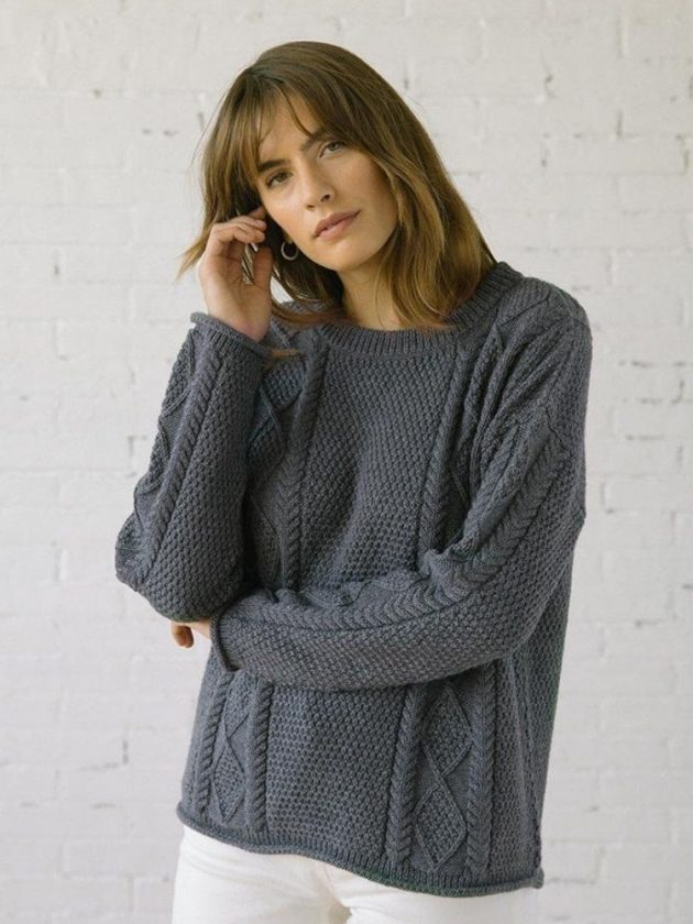 Conscious sweaters from slow fashion brand Tradlands
