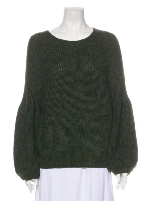 Secondhand sweaters from The RealReal