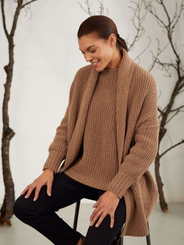 Sustainable sweaters from UK fashion brand Thought