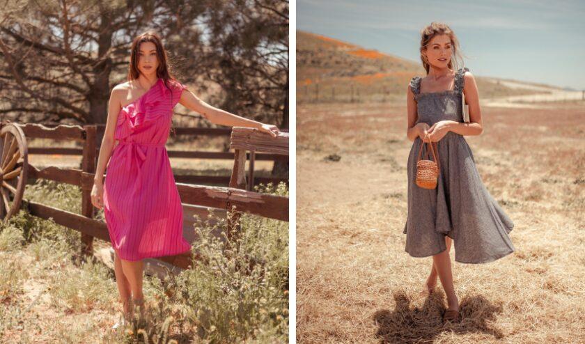 Valani sustainable vegan dresses