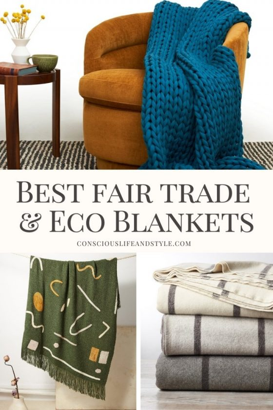 Best Fair Trade and Eco Blankets - Conscious Life and Style