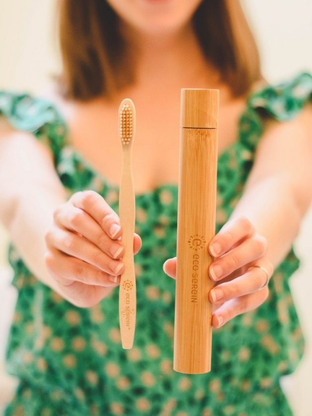 Bamboo Toothbrush and Case from Eco Serein