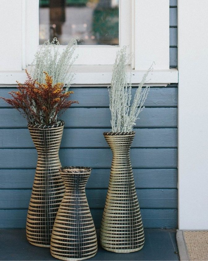 Sustainable and fair trade vases and planters
