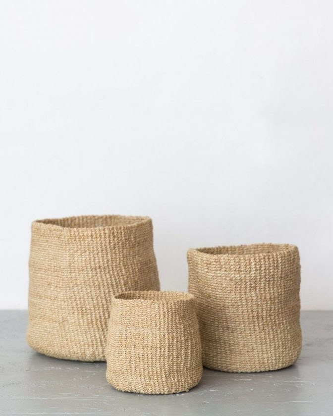 Fair trade and sustainable planters from Will & Atlas